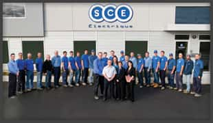 SCE Electric team of electricians